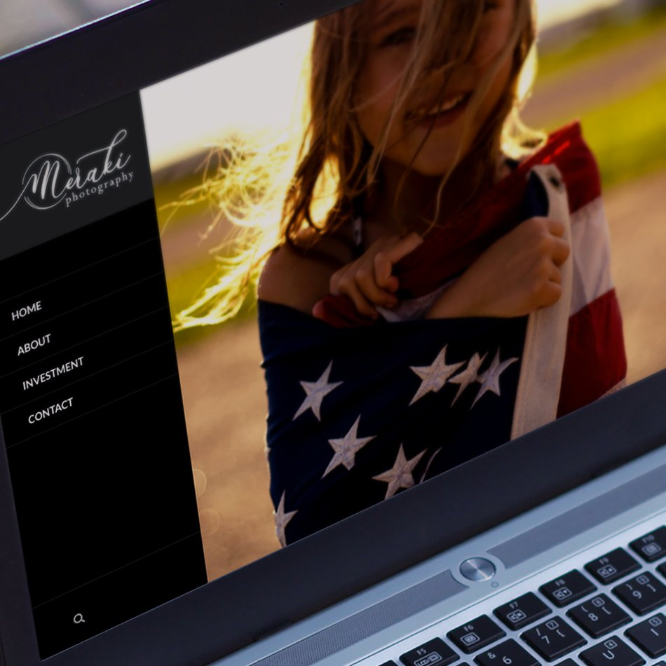 Meraki Photography Website